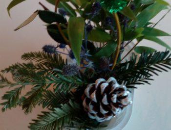Atelier «compositions végétales» pour Noël