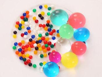 Infos sur les perles d'eau et les piles boutons